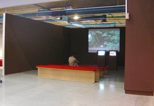 Exhibition view, Centre Pompidou, Paris, 2008.